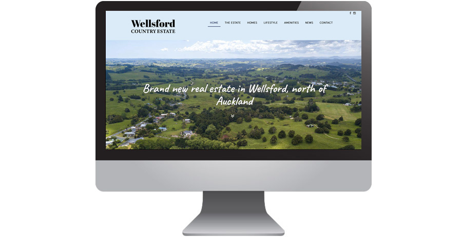 Mobile-friendly website for Wellsford Country Estate